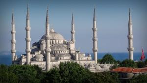 Hagia Sofia i solsken